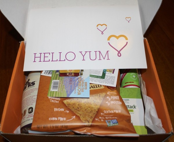 Hello Yum - January 2014 Bestowed Box