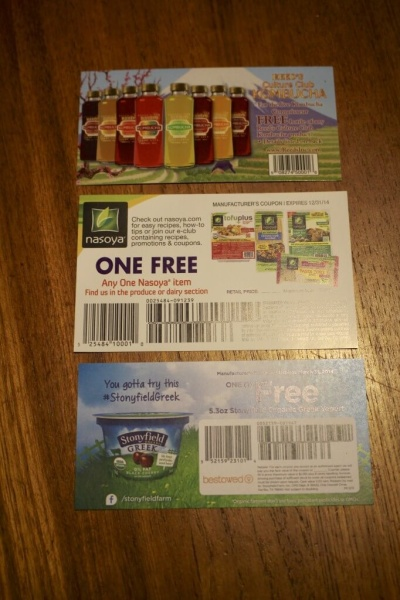 Free Item Coupons