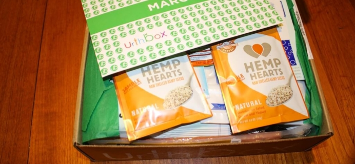 March Urthbox Review – Healthy Subscription Box