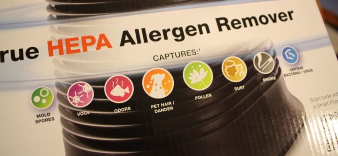 Getting rid of germs & allergens with a Honeywell HEPA Allergen Remover + Giveaway!