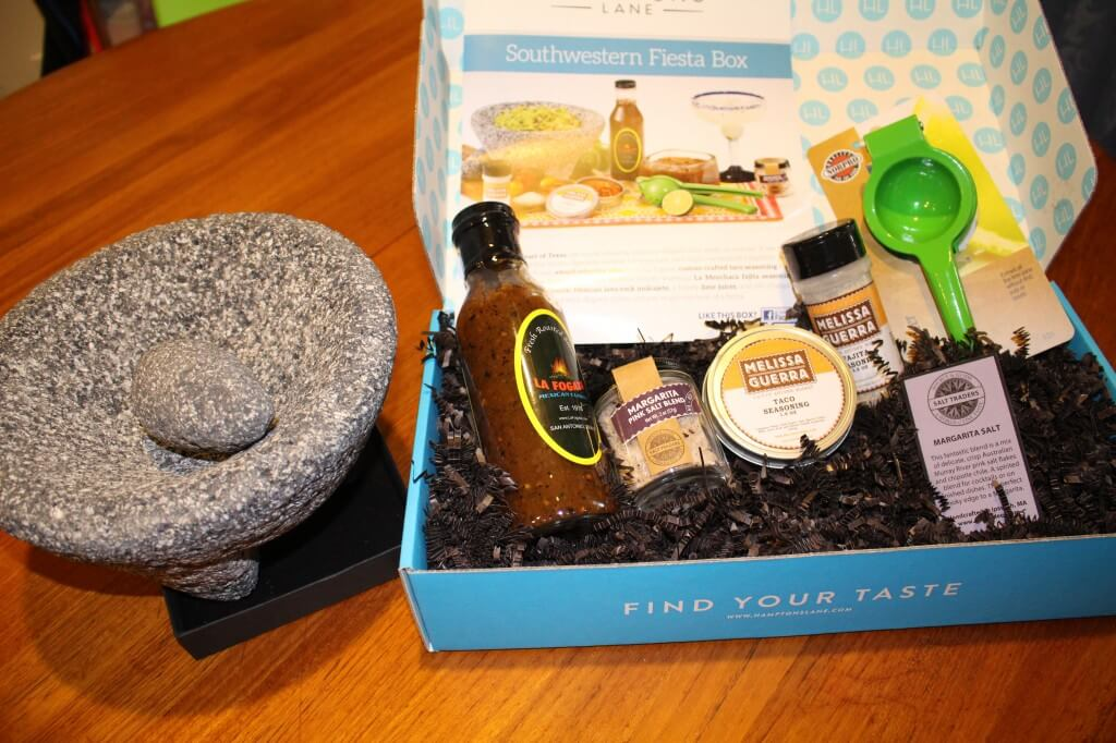 Hamptons Lane Food & Cooking Subscription Box Review & Coupon – April 2014