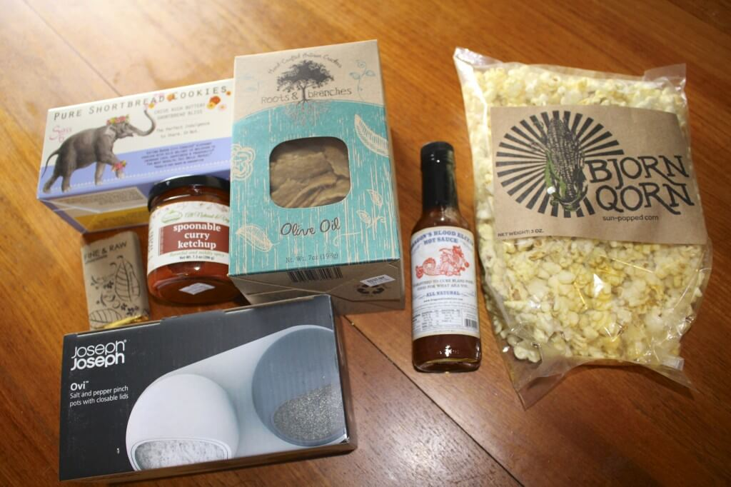 April 2014 Fancy Food Box Review + Coupon Code