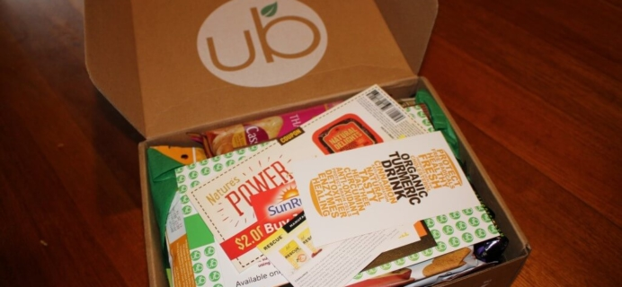 April Urthbox Review – Diet Version & Coupon! – Healthy Food Subscription Box!