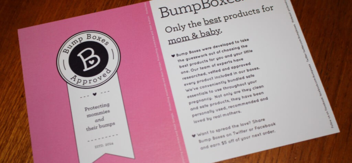 Bump Boxes Pregnancy Gift Box Review – Be Ready! Box