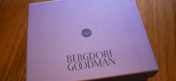 May 2014 Bergdorf Goodman Glossybox Review + Coupon – Free Nioxin Diamax!