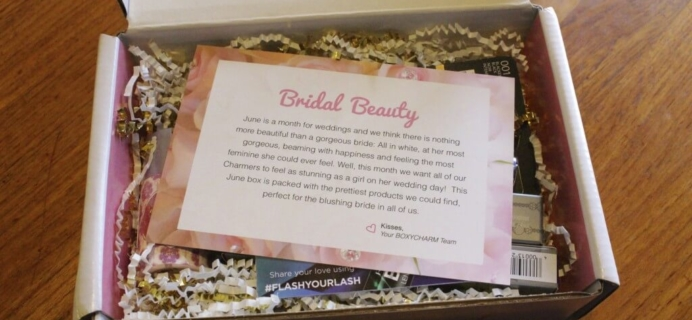 June 2014 BoxyCharm Beauty Subscription Box Review