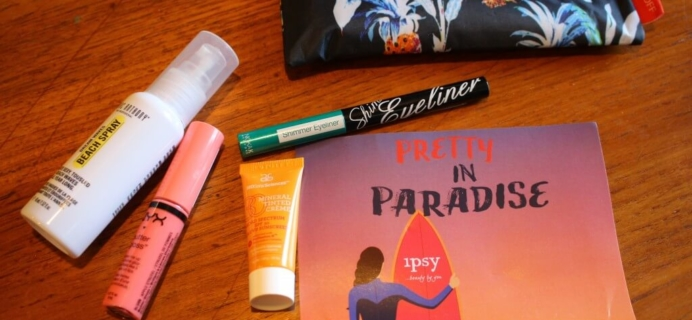 June 2014 Ipsy Review