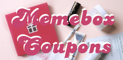 #Memebox Coupons