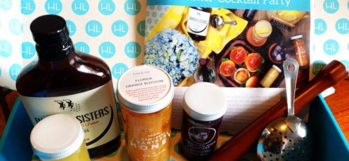 July 2014 Hamptons Lane Subscription Box Review & Coupon – Summer Cocktail Party!