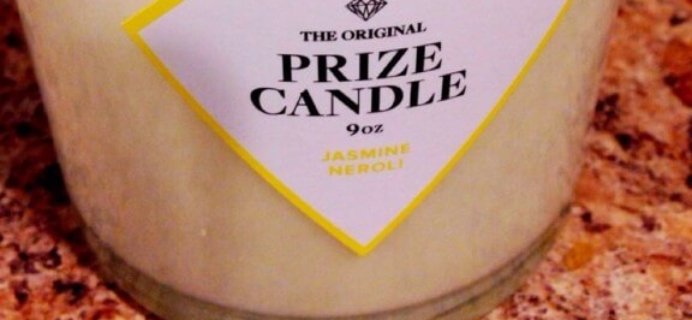 Candles for Subscription Box Addicts – Prize Candle Review!