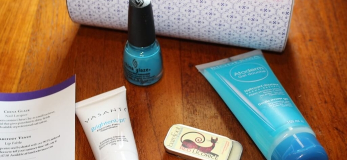 June 2014 TopBox Review – Canadian Beauty Subscription Box