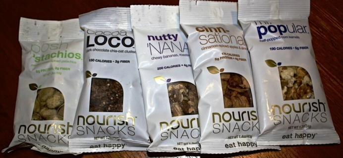 Nourish Snacks Review – New Snack Subscription Box