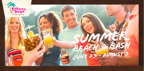 #SummerBeachBash at Bahama Breeze!