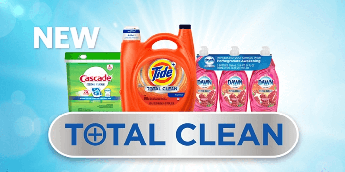 Tide, Dawn, & Cascade Total Clean Lineup Now Available at Sam's Club!