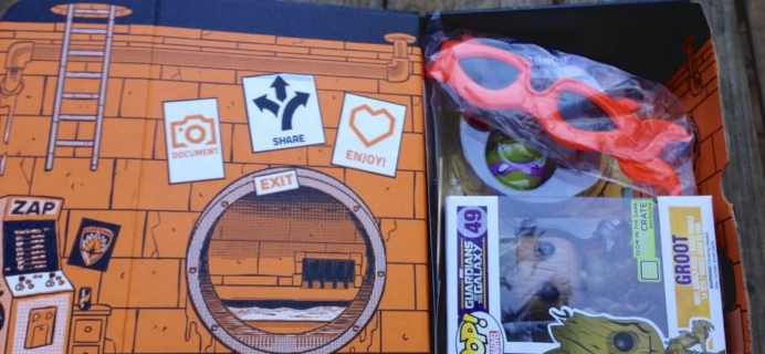 August 2014 Loot Crate Review – Heroes + Coupon Code