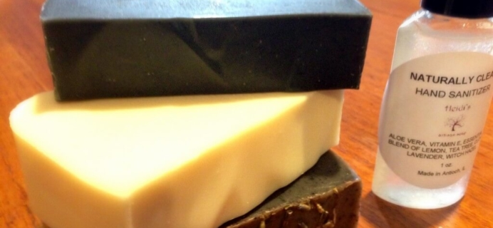 August 2014 Sudsy Box Review & Coupon – Soap & Spa Subscription Box