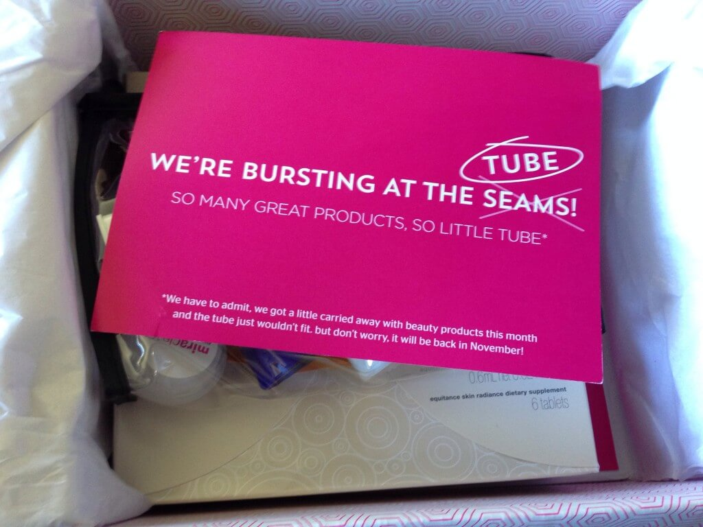 September 2014 New Beauty Test Tube Review + $10 Coupon + Giveaway