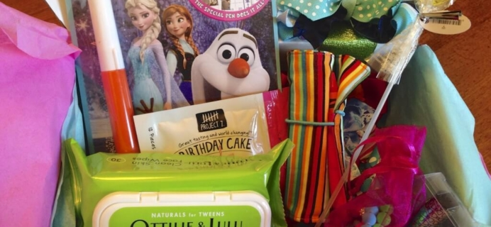 September PoshPak Review – Teen, Tween & Girls Subscription Box