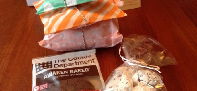 September 2014 Orange Glad Review & Coupon – Sweets & Desserts Subscription Box