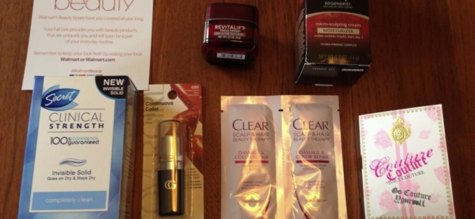 Monday Mini-Reviews Round 2! Beauty DNA, Walmart Beauty, September Bulu Box, Graze