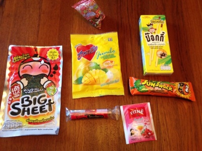 From Thai With Love Review – September 2014 – Snacks From Thailand!