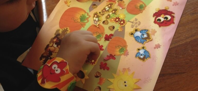 August & September 2014 Doodlebug Busy Bags Kids Craft Subscription Review