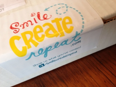 Smile, Create, Repeat Review – New Art Subscription Box! – October 2014