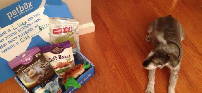 October 2014 PetBox Subscription Review & Coupon!
