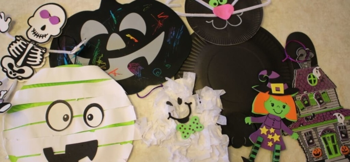 October 2014 Doodlebug Busy Bags Kids Craft Subscription Review