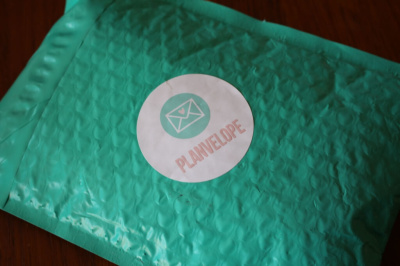 Planvelope Subscription Box Review
