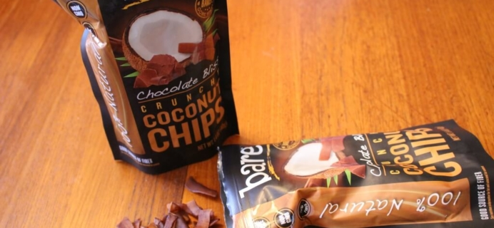 New Snack Addiction! Bare Chocolate Bliss Coconut Chips