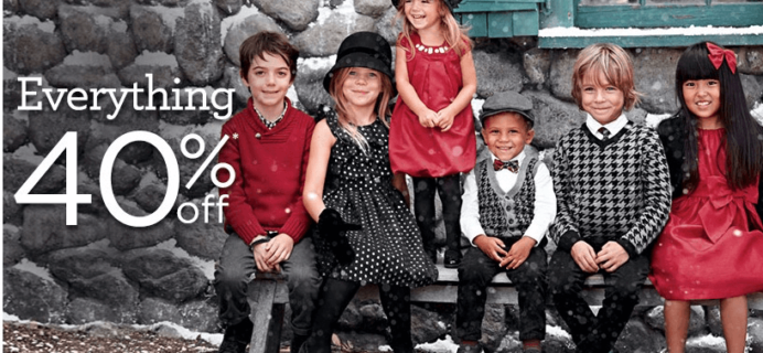 40% off at Gymboree! Get Kids Holiday Clothes Now! #holidayprep #holidaygiftguide