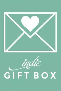 Indie Gift Box: handmade and delivered with love.