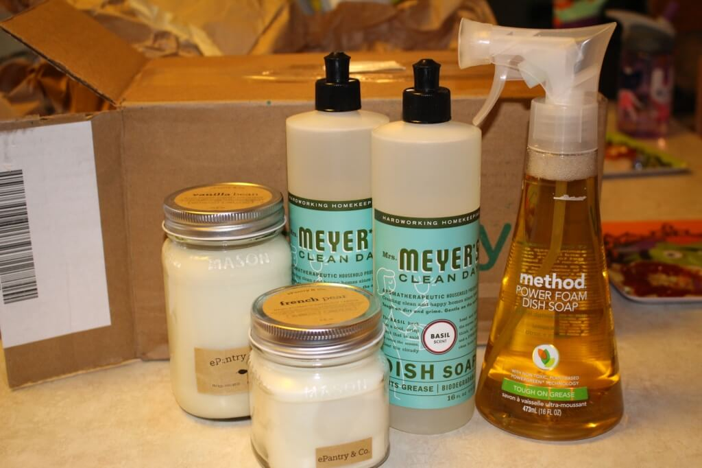 ePantry Review – Cleaning Supplies & Candles Subscription