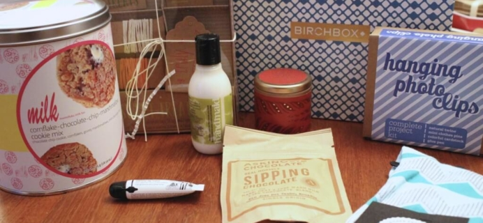 Birchbox Home Sweet Homespun Holiday Limited Edition Box Review & Coupon
