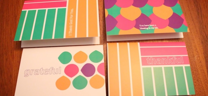 Loved + Blessed Review – Christian Subscription Box – November 2014