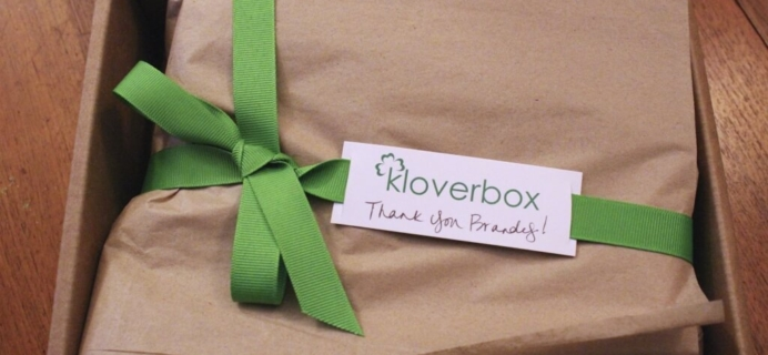 November 2014 #KloverBox Review – Green & Eco-Friendly Subscription Box
