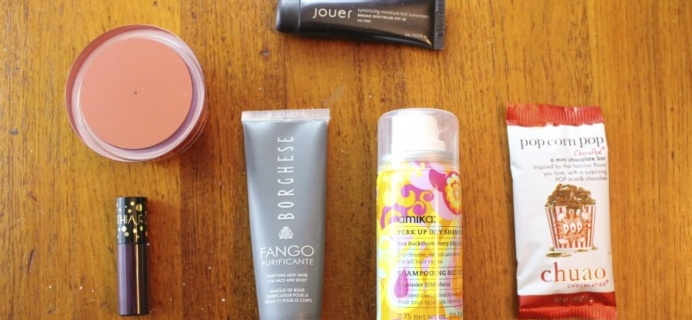 November 2014 Birchbox Reviews + Coupon Code for $10 in Points!