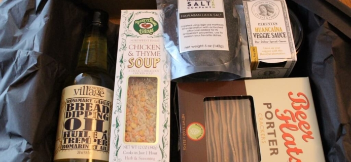 November Taste Trunk Subscription Box Review – Gourmet Box + Coupon!
