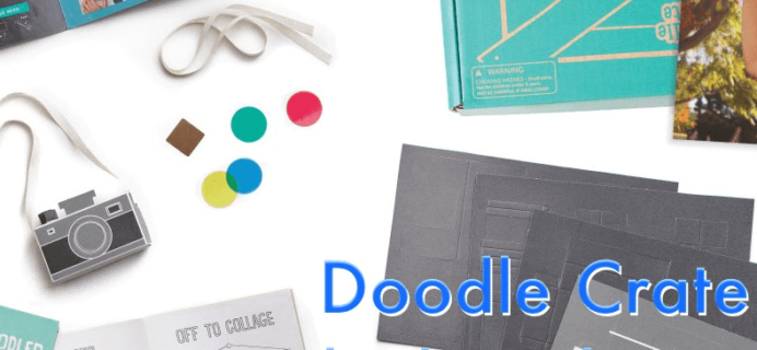 Doodle Crate Cyber Monday Coupon – Creative Subscription Box for Kids!