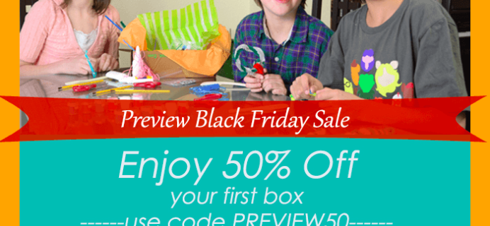 Black Friday Preview Sale: Happy Trunk Kids' Subscription Box