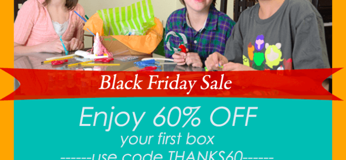 Black Friday Deal: Happy Trunk Kids' Subscription Box