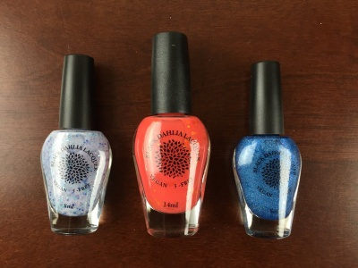 Black Dahlia Lacquer Subscription Review – March 2015