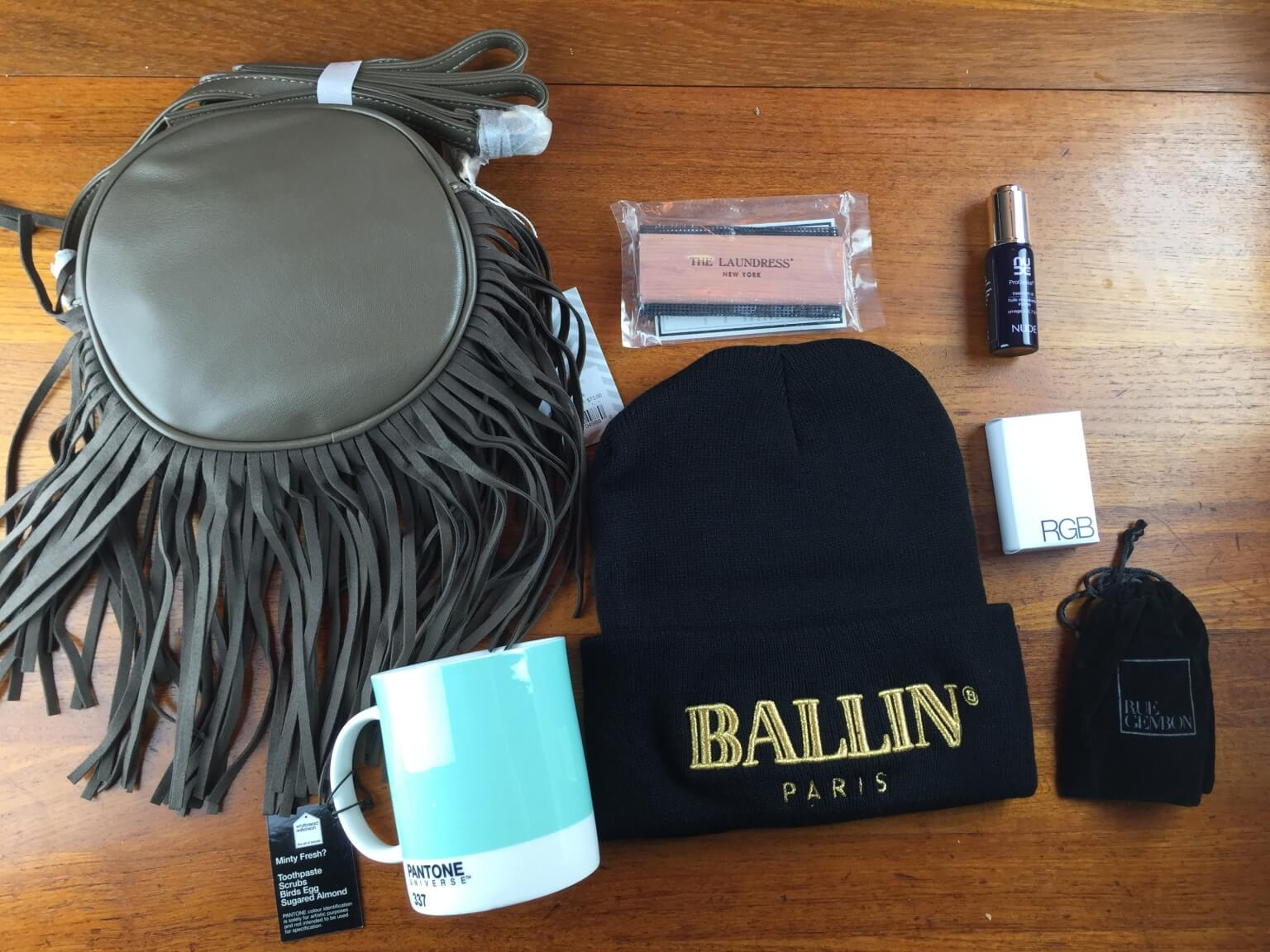 Nina Garcia #NGQ04 Quarterly Subscription Box Review – November 2014 Fall