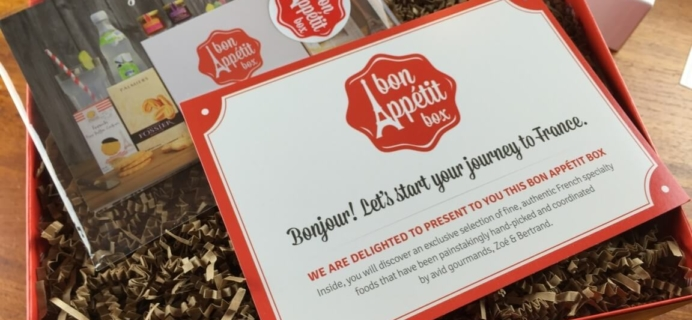 "Bon Appétit Box Review & Coupon – The ""Goûter Box"" – French Food Subscription!"