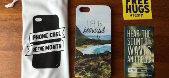 December 2014 Phone Case of the Month Review #pcotm