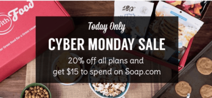 Love With Food Cyber Monday Deal
