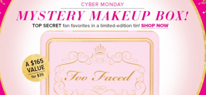 Too Faced Beauty Mystery Box – Cyber Monday Deal!