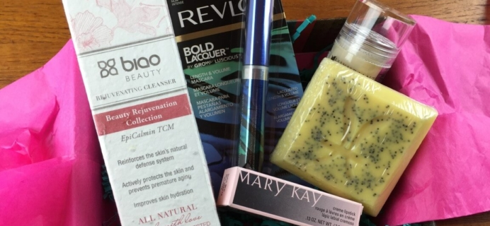 December 2014 Onyx Box Subscription Box Review