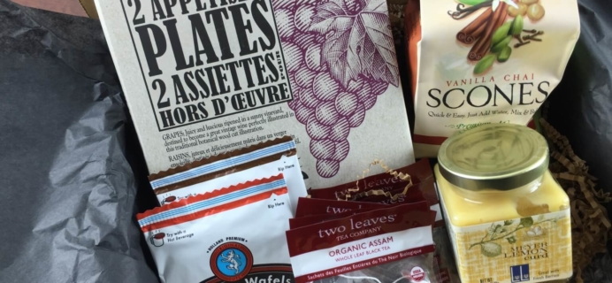 December 2014 Gourmet Taste Trunk Subscription Box Review + Coupon!